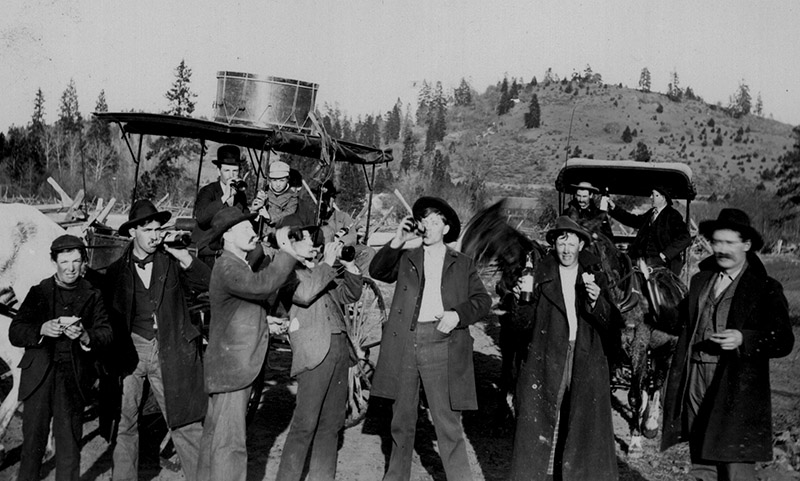 Montague Band Clowning Around